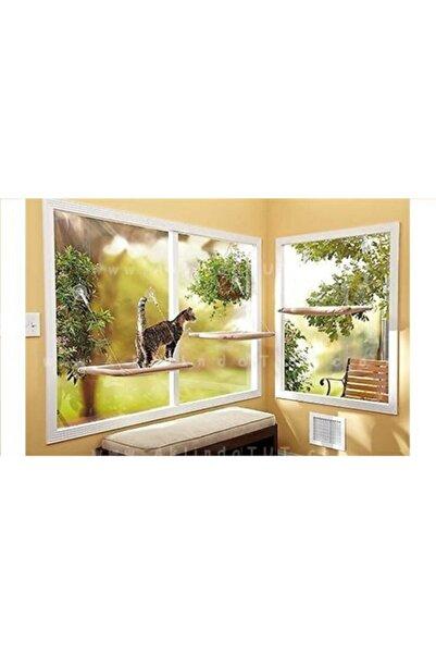 Pet Pretty Kedi Pencere Hamak Sıcak Monte Pencere Kedi Şezlong Vantuz Kedi Pencere Yatağı