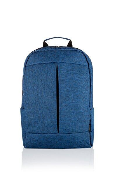 """RELIANCE 15,6"""" Mavi Notebook Laptop Bilgisayar Sırt Çantası"""