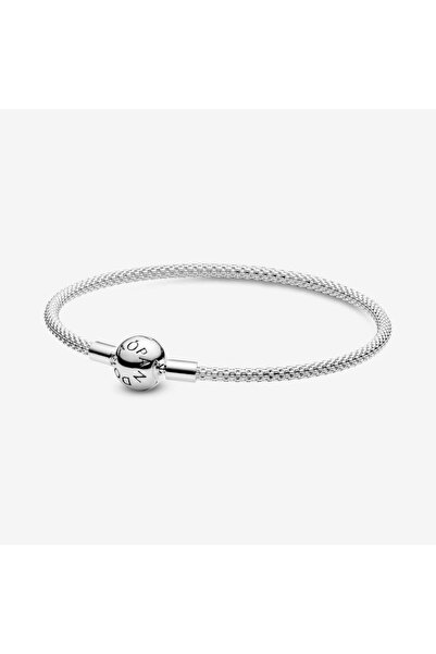 CHARM'S Pandora Modeli Moments Gümüş Tel Örgü Bileklik