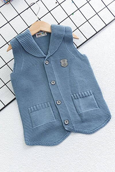 Babymod Triko Erkek Bebek Yeleği