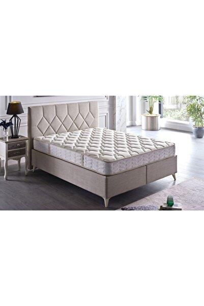 İSTİKBAL Sleepy 160x200 Baza Cotton Krem (BAŞLIK DAHİL DEĞİLDİR)
