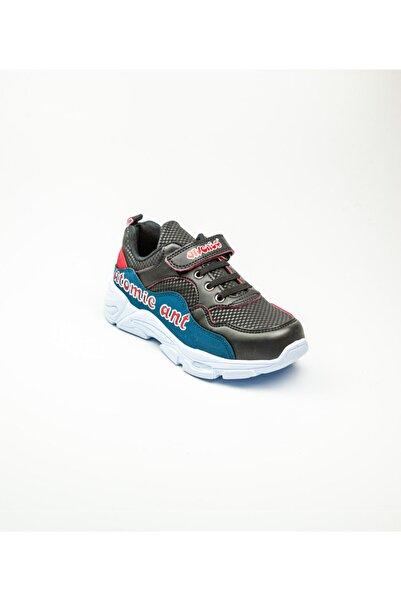 Arvento 355 Çocuk Spor Ayakkabı Siyah Siyah-35