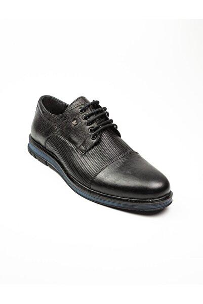Nobel 1032 Klasik Erkek Deri Ayakkabı Siyah Siyah-45