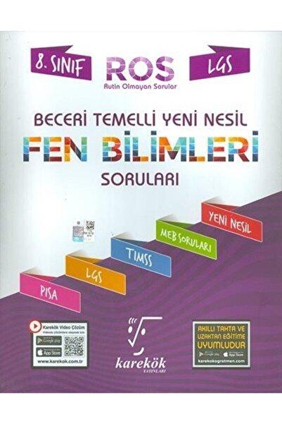 Karekök Yayınları Lgs Beceri Temelli Fen Bilimleri Soruları