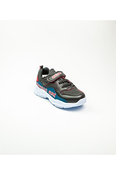 Arvento 355 Çocuk Spor Ayakkabı Siyah Siyah 27