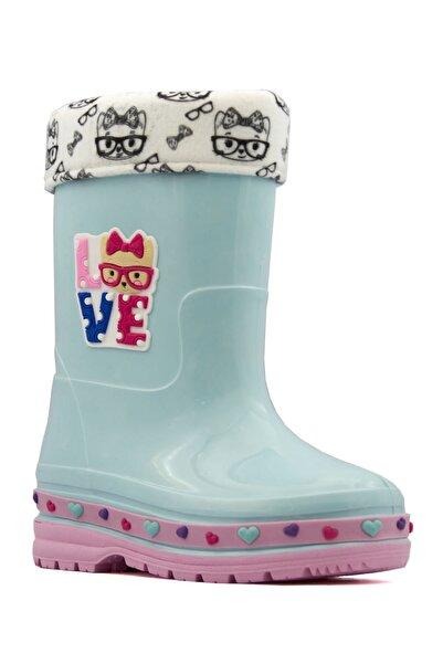 LETAO Kız Çocuk Su Geçirmez Yağmur Çizmesi