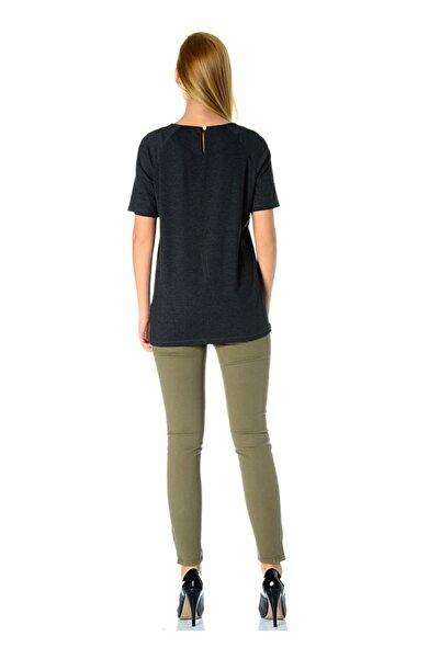 Cotton Bar Siyah T-shirt