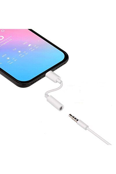 LOOVOX Iphone 7 8 Plus X 11 12 Pro Uyumlu Lightning Kulaklık Çevirici Aux Dönüştürücü Aparat