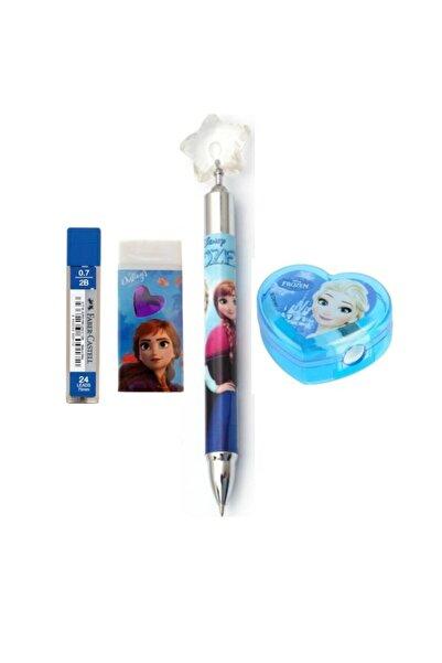 Frozen Elsa Uçlu Kalem Silgi Kalemtıraş Uç Takımı