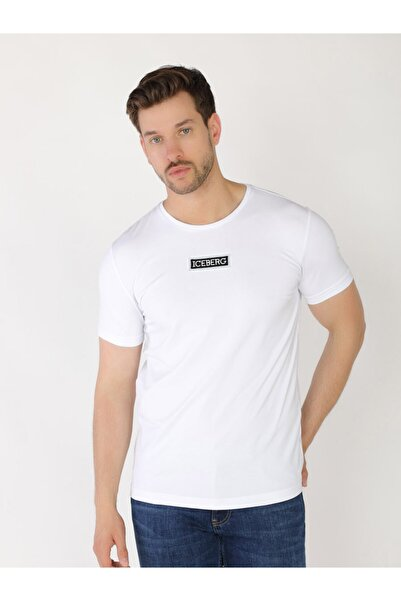 Iceberg Erkek Tshirt - Beyaz