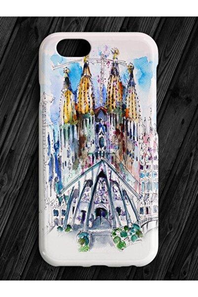 Bazaar Case Honor 7s Uyumlu La Sagrada Familia Telefon Kılıfı
