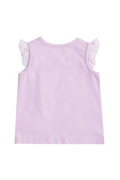 Mammaramma Rab040 Lila Kız Bebek T-shirt