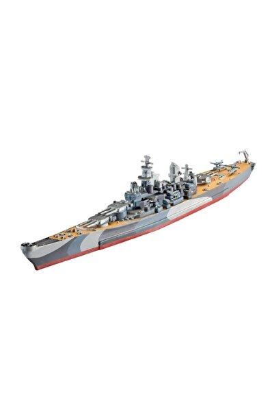 REVELL Marka 1:1200 Uss Missouri Wwıı Model Gemi Seti 65128 Pedallı Araçlar