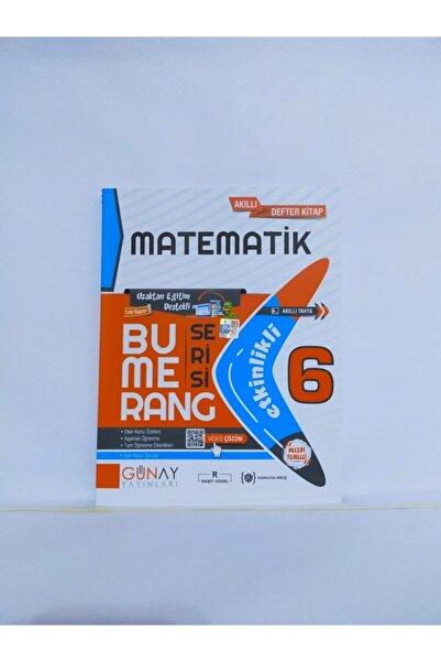 Günay Yayıncılık Bumerang Serisi 6. Sınıf Matematik -