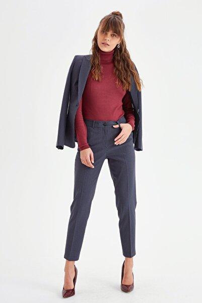 Chima Düğmeli Rahat Kesim Pantolon