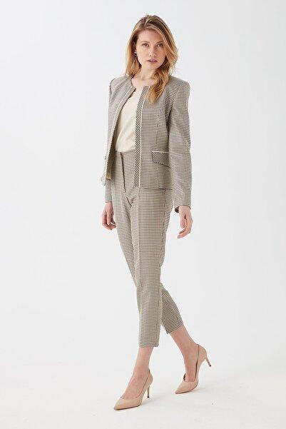 Chima Detaylı Yüksek Bel Pantolon