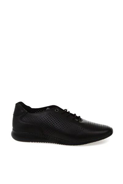 Cotton Bar Siyah Düz Ayakkabı