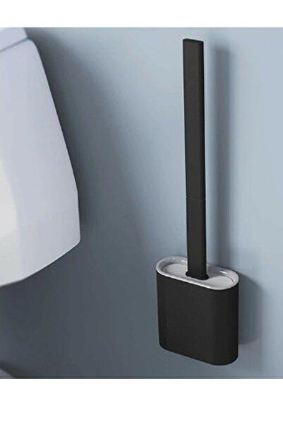 ADRESSHOME Silikon Banyo Tuvalet Klozet Temizleme Fırçası Ve Tutucu Set
