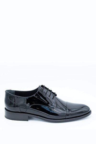 İgs Erkek Siyah Klasik Ayakkabı