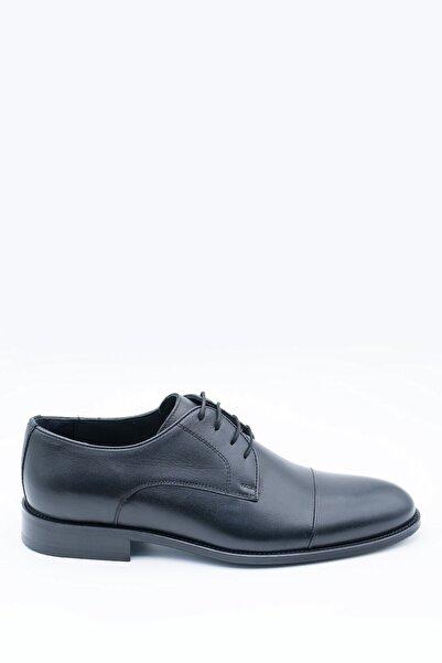 İgs Erkek Siyah Deri Klasik Ayakkabı I17523-4 M 1000