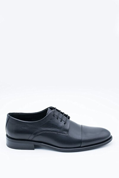 İgs Erkek Deri Klasik Ayakkabı I1910483-2 M 1000 Siyah
