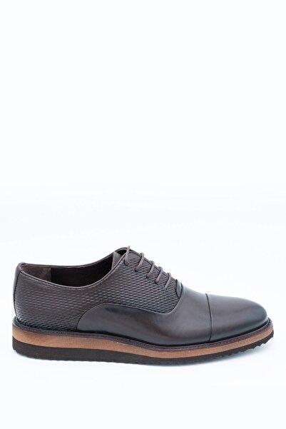 İgs Erkek Deri Günlük Ayakkabı I1711459-3 M 1000 Kahve