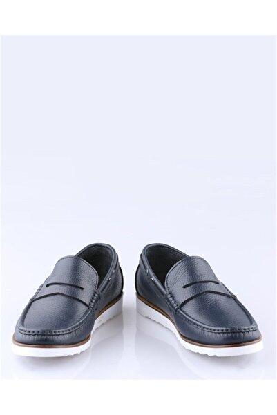 Buffalo El Yapımı Lacivert Loafer Ayakkabı