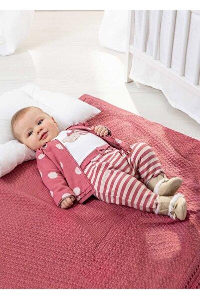 MAYORAL Kız Bebek Ayıcık Detaylı 3'lü Takım