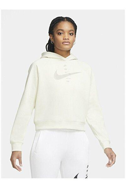 Nike Sportswear Swoosh Hoodie Kadın Sweatshirt Cu5676-238