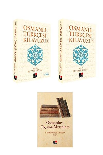 Kesit Yayınları Osmanlı Türkçesi Kılavuzu 1 - 2 Ve Osmanlıca Okuma Metinleri