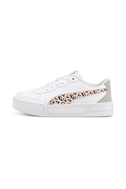Puma Skye Roat Jr Günlük Spor Ayakkabı Beyaz Kadın - 38089801