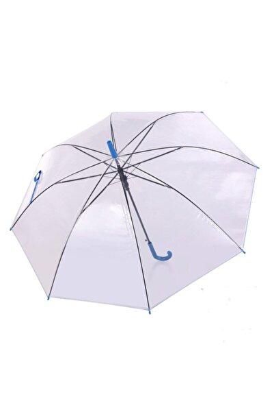 LOOVOX Şeffaf Şemsiye Çocuk Ve Yetişkinler İçin Yağmur Koruma Rüzgara Dayanıklı