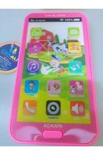 Can Ali Toys Oyuncak Dokumatik Cep Telefonu / Tablet Sesli 12 Fonksiyonlu Eğitici Oyun Butonları 3d