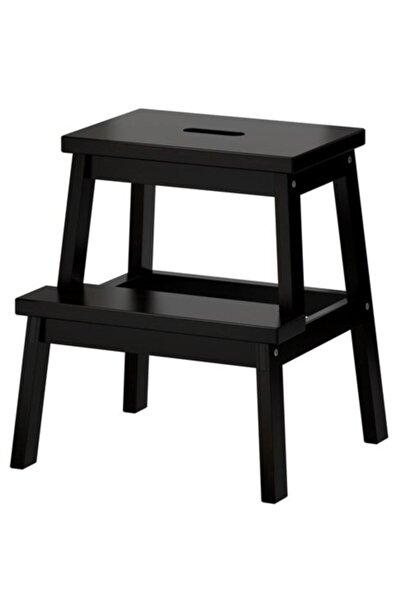 IKEA Bekvam Basamaklı Mutfak Tabure Merdiven Siyah Mutfak Gereçleri