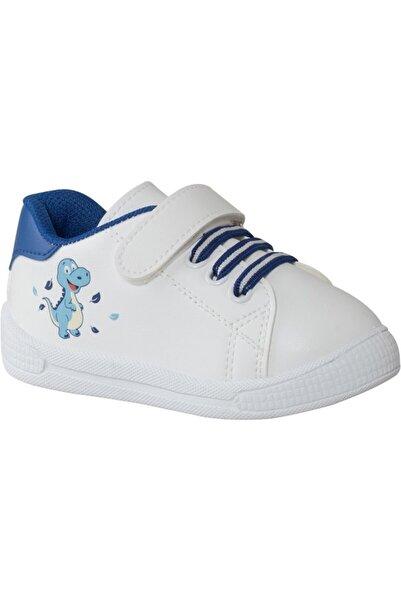 Bobbi-Shoes Unisex Çocuk Beyaz Sneaker