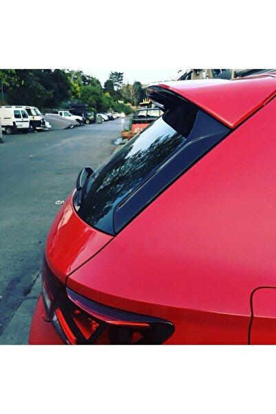 Seat Leon Spoiler Çıtası / Arka Cam Çıtası - Siyah Boyalı