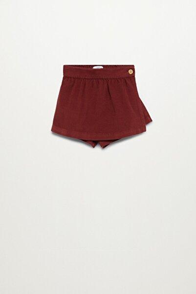 MANGO Baby Kız Çocuk Fitilli Kadife Pantolon Etek