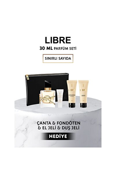 Yves Saint Laurent Libre Edp Kadın Parfüm Seti 30 ml 8690595156699