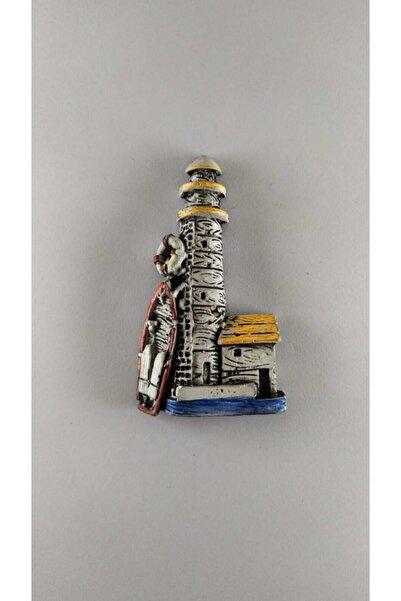 Tumbled Workshop Alaçatı Magnet Buzdolabı Süsü Hediyelik Dekoratif Eşya