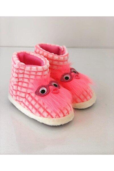 Miracle Kız Çocuk Pembe Panduf , Kaydırmaz Taban Anaokulu Kreş Ayakkabısı , Ev Ayakkabısı