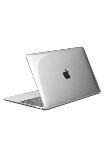 Anet Apple Macbook Air 2019 2020 Model A1932 A2337 M1 13 Inç Touch Id Sert Kapak Koruma Kılıf