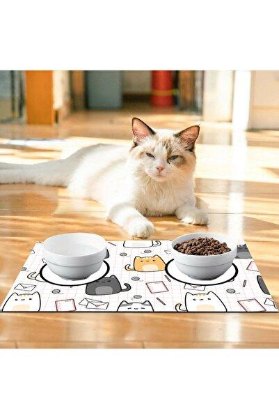 beenda Kedi Ve Köpek Mama Paspası Özel Tasarım Kaymaz Tabanlı Paspas Model2