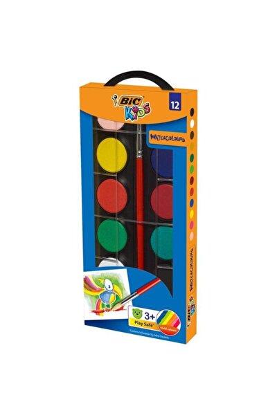 Bic Bıc Unisex Çocuk 12 Renk Sulu Boya