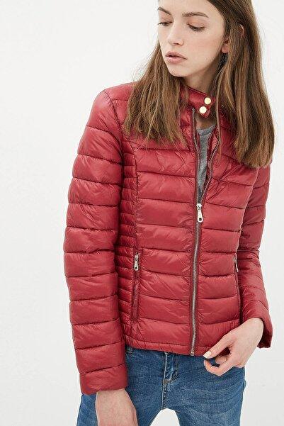 Koton Kadın Kırmızı Ceket 7kak28262ow