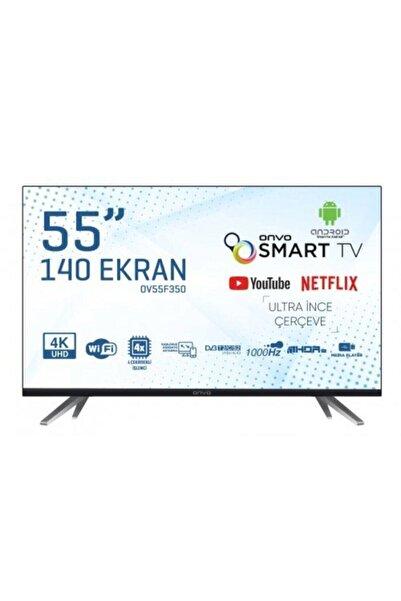 ONVO OV55F350 55'' 140 Ekran Uydu Alıcılı 4K Ultra HD Smart LED TV