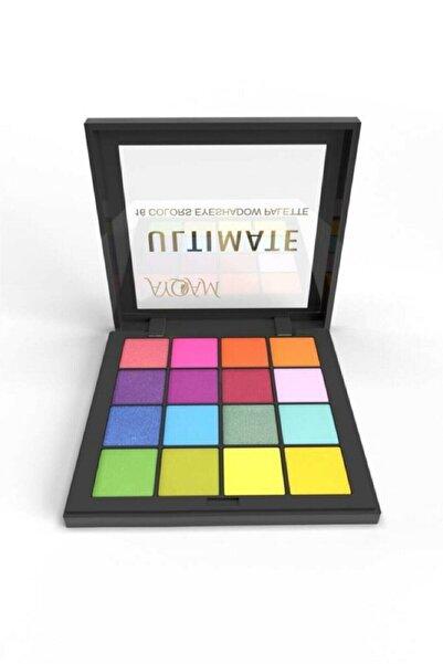 MAQYA Cosmetics 16'lı Ultimate Far Paledi No:2/ Göz Farı Paleti-ultimate Shadow Palette(h-mt-1448)