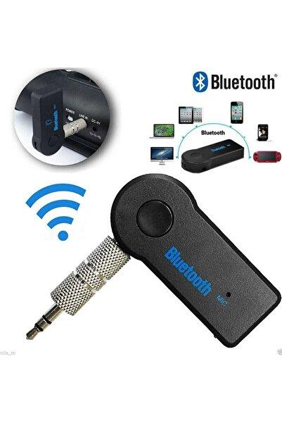 Mi7a Bluetooth Aux Araç Kiti 3.5mm Jack Aux Araç Ses Aktarım Bluetooth Aux