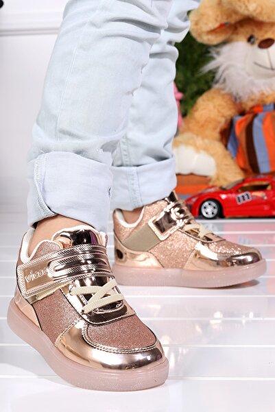 Vicco 220.20k.105 Mimi Işıklı Cırtlı Kız Çocuk Spor Bot Ayakkabı