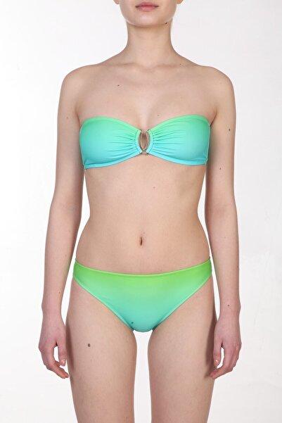 Zeki Triko Kadın Desenli/Renkli Bikini Takımı ZB.1040-19