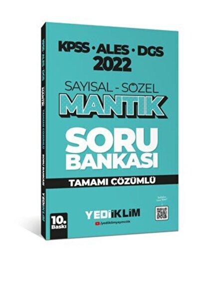 Yediiklim Yayınları 2022 Kpss-ales-dgs Sayısal Sözel Mantık Tamam